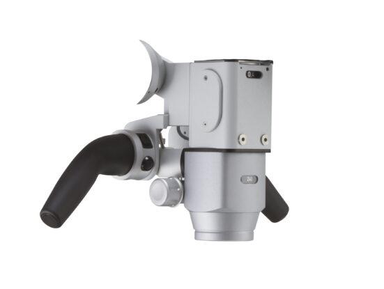 Моторизований варіо-об'єктив (f=200-400mm) + плавне збільшення (Zoom 1:6)